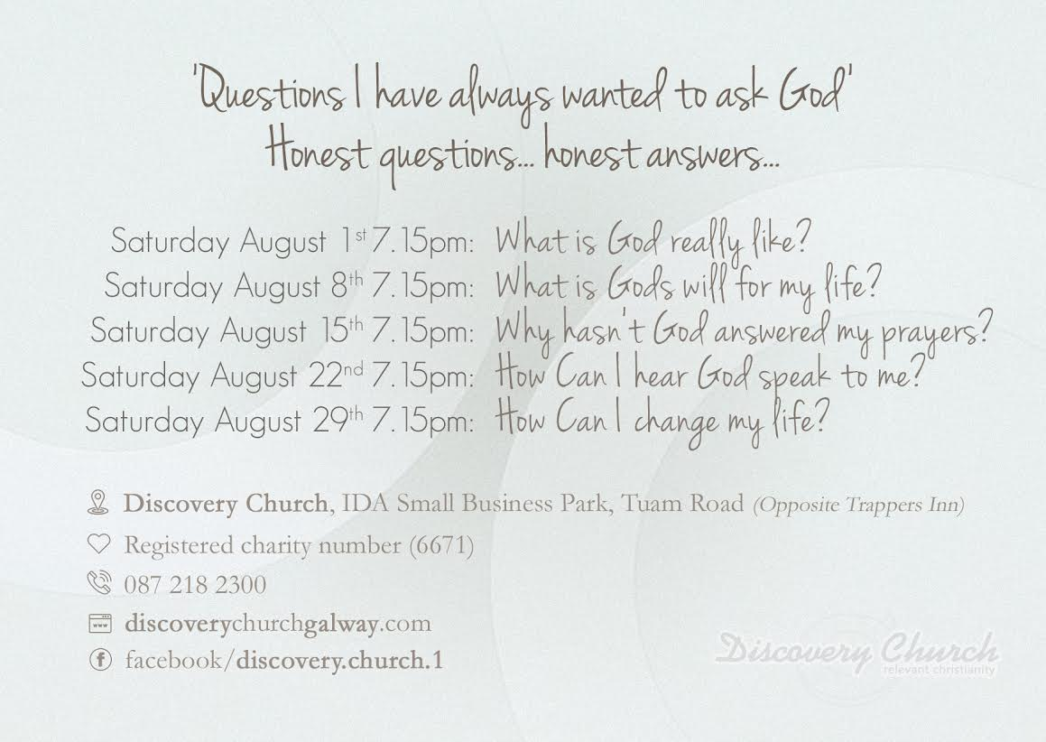discovery church Saturday night invitation