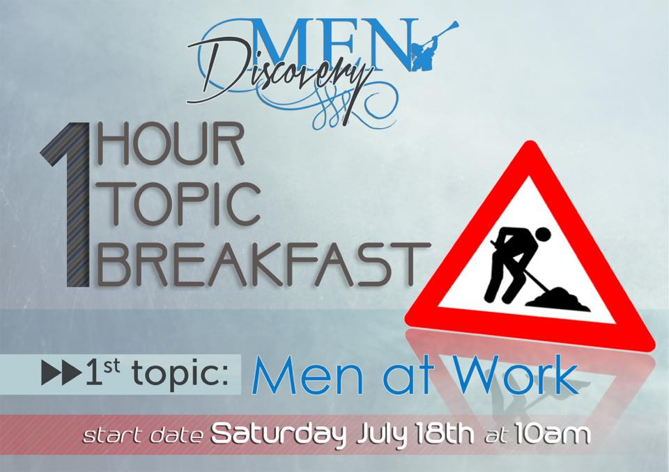 Discovery Church men's breakfast
