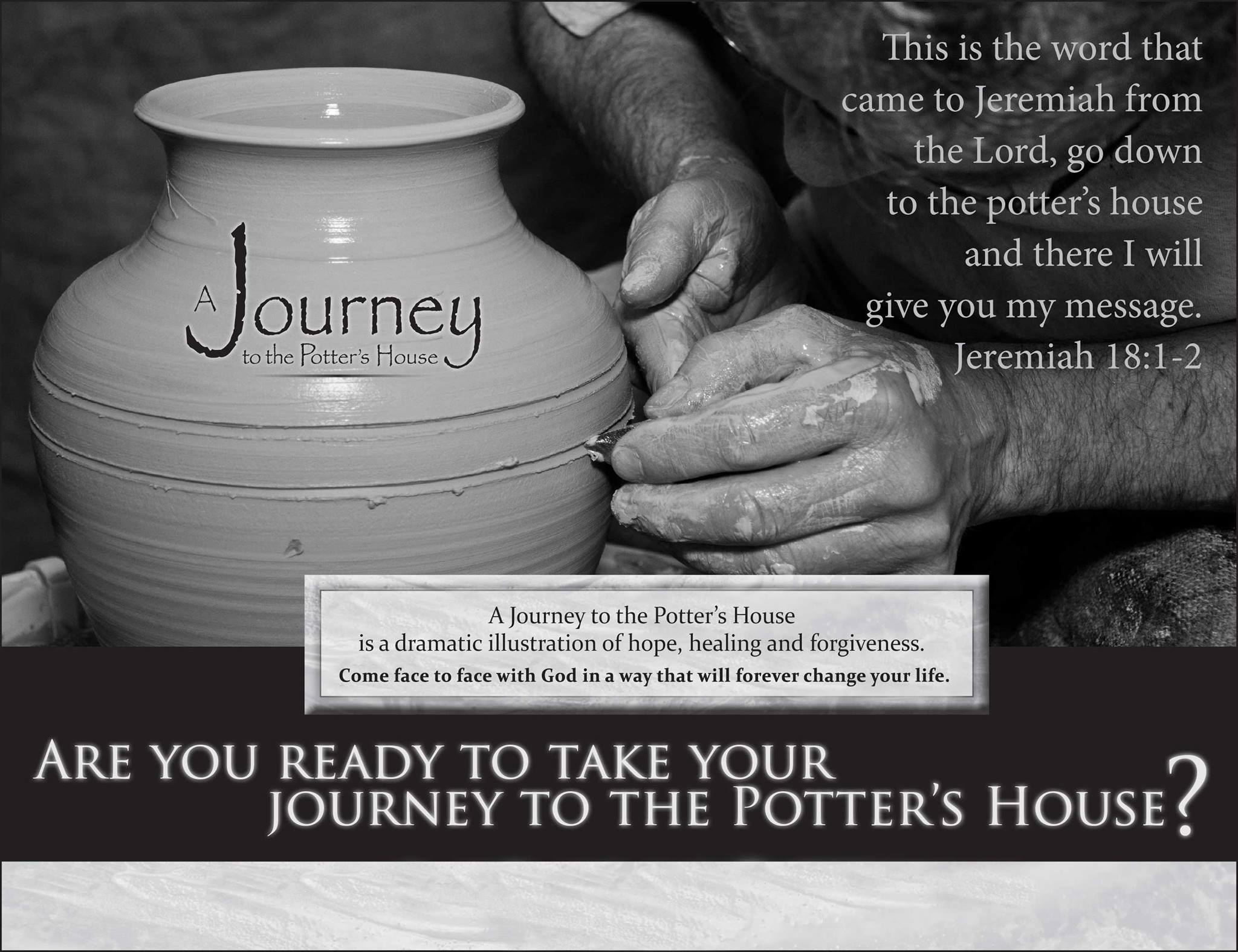 journey to the potters house