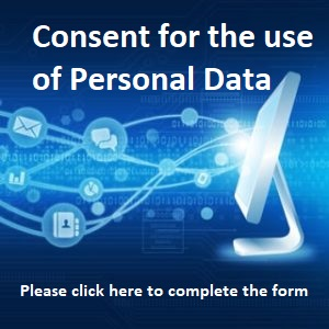 consent for the use of personal data