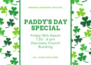 paddys day special event
